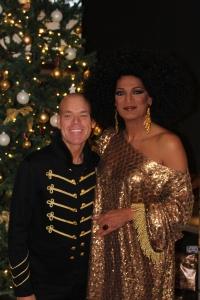 Dutch Diana Ross Glitter pailletten, maar ook de marine look perfect gecombineerd voor een gala lunch